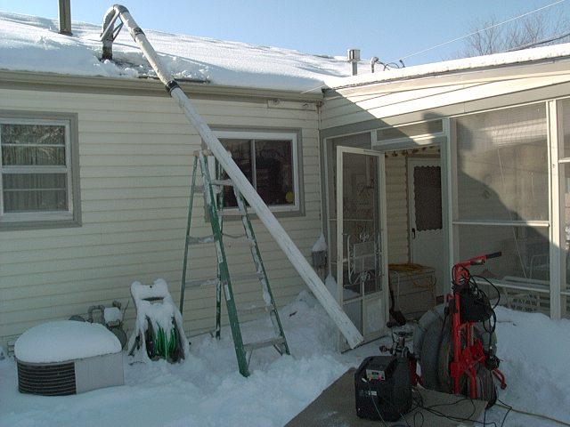Best Way To Snake From The Roof Ridgid Forum Plumbing