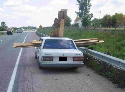 Transporting Lumber Home Without A Truck Ridgid Forum
