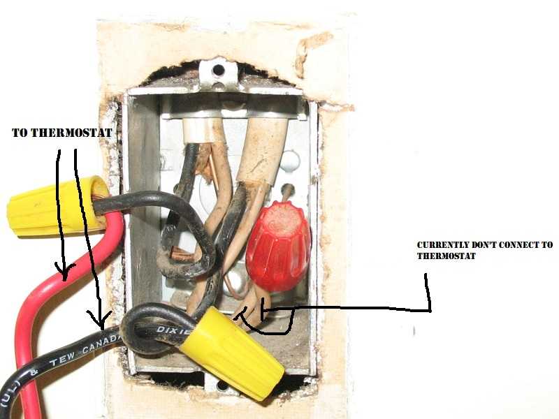 Help Solve An  U0026quot Argument U0026quot  About A Dpst Thermostat For My