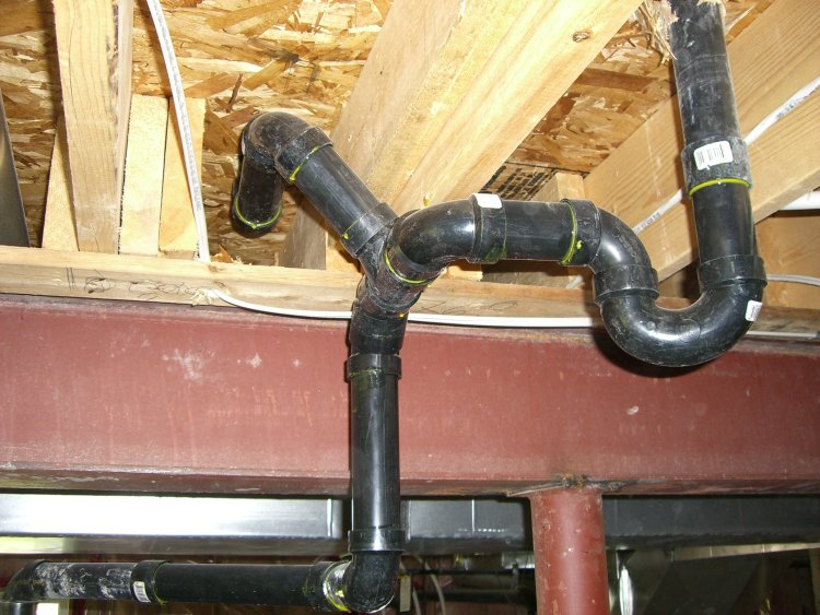 Move Kitchen Drain Line Ridgid Forum Plumbing