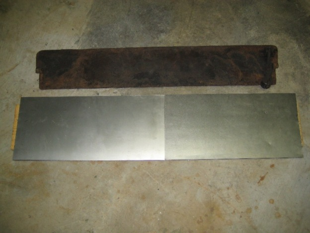Fireplace Metal Block Off Plate Seal Insulation And Steel