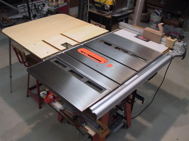 3650 Outfeed Table Ridgid Plumbing Woodworking And