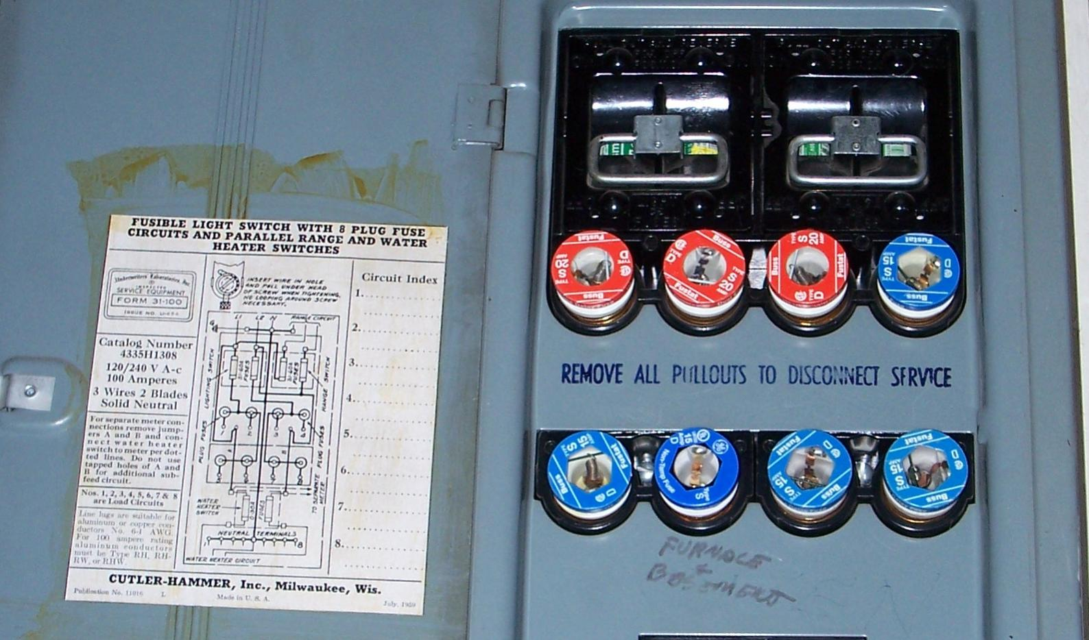 How many amps does this fuse box have ridgid plumbing